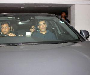 Karisma Kapoor spotted at Karan Johar home