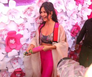 Holi party - Katrina Kaif