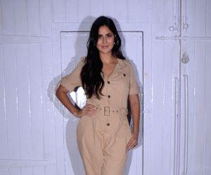 Katrina Kaif seen at Mehboob Studio