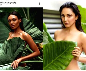 Daboo Ratnani's Kiara calendar photo in plagiarism row