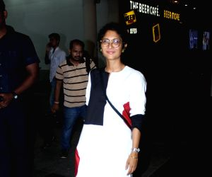 Kiran Rao potted at PVR cinema