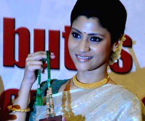 Actress Konkona Sen Sharma during a promotional event