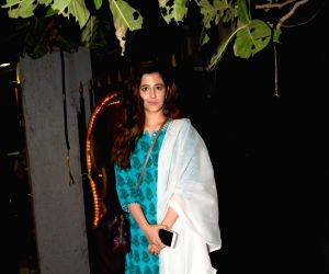 Nupur Sanon seen at a spa