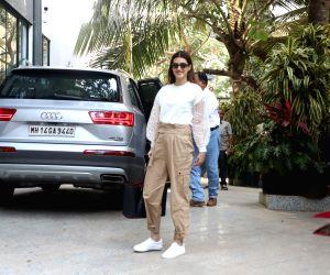Kriti Sanon seen at Maddock Films office