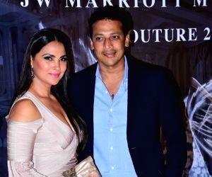 Manish Malhotra's Haute Couture 2018 - Lara Dutta and Mahesh Bhupathi