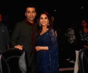 """Dance Deewane"""" show - Madhuri Dixit Nene and Karan Johar"""