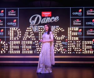 "Actress Madhuri Dixit Nene at the launch of season 2 of dance reality show ""Dance Deewane"" in Mumbai on May 26, 2019."