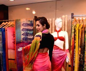Malaika Arora Khan during the launch Satya Paul new collection