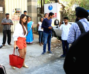Malaika Arora seen at a salon