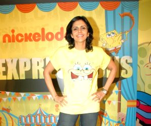 Mandira Bedi at Nickelodeon event