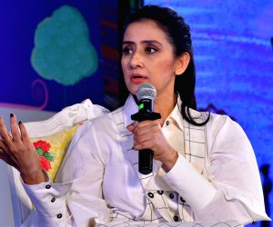 Manisha Koirala at 12th Jaipur Literature Festival