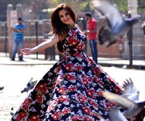 Monika Bedi during a photoshoot