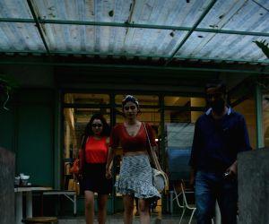 Mouni Roy seen at Mumbai's Bandra