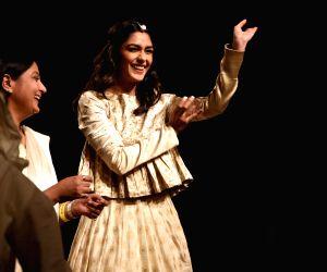 Mrunal Thakur at Lakme Fashion Week Winter/Festive 2019