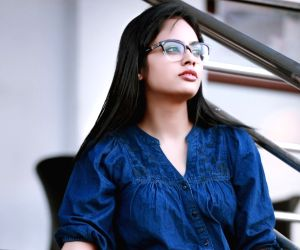 'Nanditha' - photo shoot