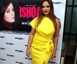 "Neetu Chandra promotes music video ""Ishqa"