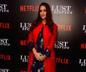 "Netflix's ""Lust Stories"" - Neha Dhupia"