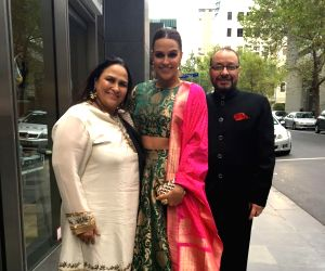 Neha Dhupia workcation's in Australia with her family