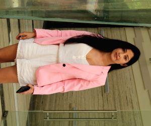 Niharica Raizada seen outside Rohit Shetty's office