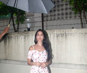Nora Fatehi seen at T-series office
