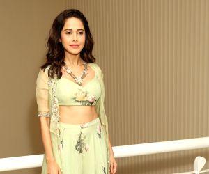 "Nushrat Barucha at promotion of  movie ""Dream Girl"