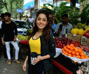 Nushrat Bharucha seen in Bandra