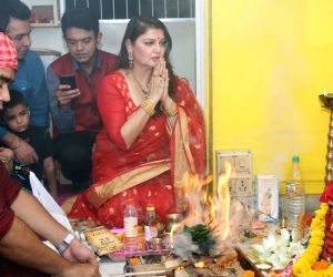 Lakshmi Puja at Pallavi Chatterjee's home