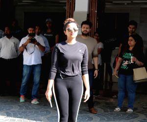 Parineeti Chopra seen at a gym