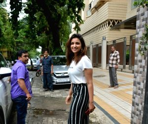 Parineeti Chopra seen at Mumbai's Bandra