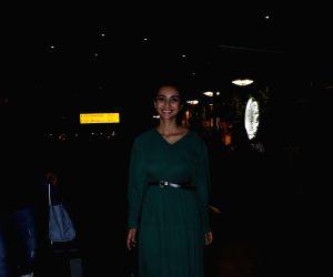 Patralekhaa seen at Mumbai airport
