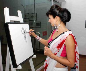 Art preview of artist Rekha Rana
