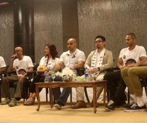 Delhi Hoopers' press conference