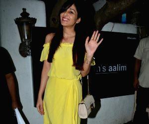 Pooja Chopra seen at a salon