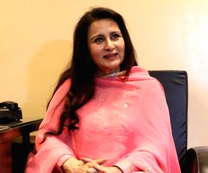 Poonam Dhillon at BJP headquarters