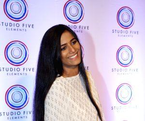 Poonam Pandey at a studio launch
