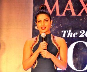 Priyanka Chopra on the cover of Maxim India magazine