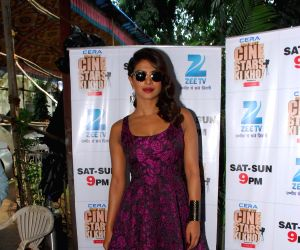 Priyanka Chopra during the promotion of film Mary Kom