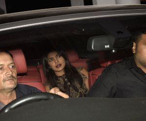 Priyanka Chopra seen at Bandra