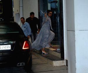 Priyanka Chopra seen at Mumbai's Khar