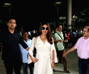 Priyanka Chopra spotted at airport