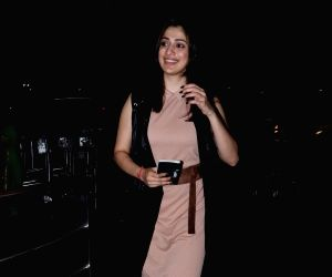 Raai Laxmi seen at airport