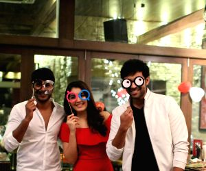 Actress Raashi Khanna  birthday Party