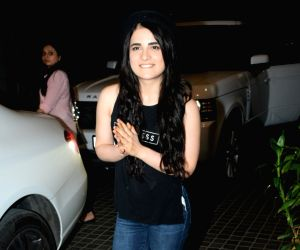 "Film ""India's Most Wanted"" screening - Radhika Madan, Arjun Kapoor, Manoj Bajpayee"