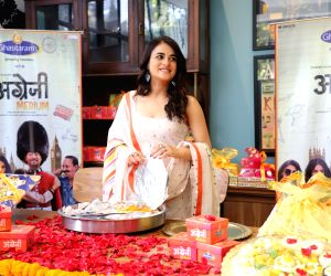 "Radhika Madan promotes her upcoming ""Angrezi Medium"