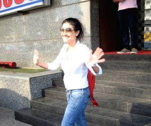 Ragini Khanna seen outside a cinema hall