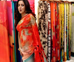 Launch of Satya Paul's new festive collection - Raima Sen
