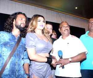 Launch of 4th Bright Award Trophy - Rakhi Sawant