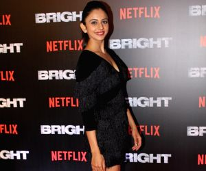"Special screening of film ""Bright"" - Rakul Preet Singh"