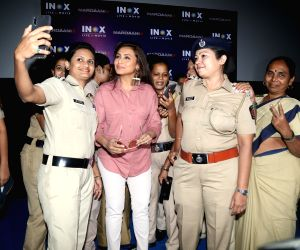 "Rani Mukerjee at the screening of ""Mardaani 2"