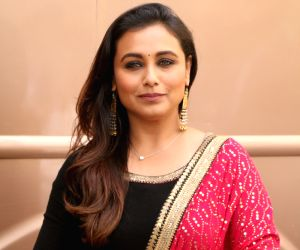 Not here to only give social messages: Rani Mukerji